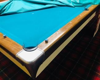 Mid Century Modern Billiards Table