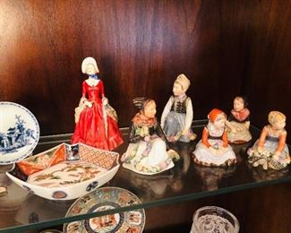 Royal Copenhagen Girl Figurines