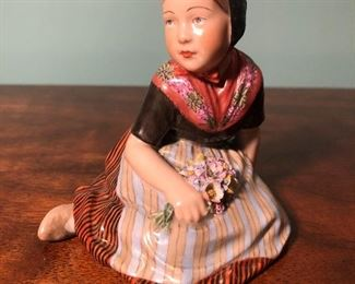 ROYAL COPENHAGEN FAROE ISLAND GIRL 12416