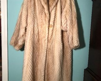 FENDI FULL LENGTH FUR COAT