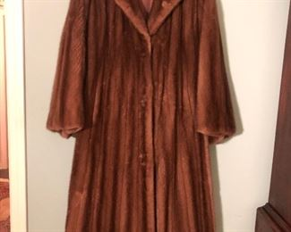 CHRISTIAN DIOR FULL LENGTH FUR COAT