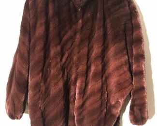 SORBARA WAIST LENGTH FUR COAT