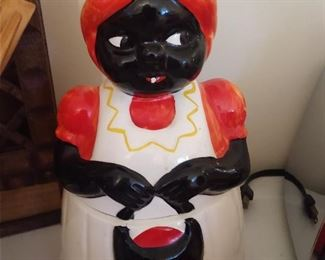 AUNT JEMIMA COOKIE JAR