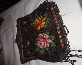 nice beaded purse, lost a few beads