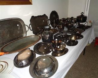 much silver plate