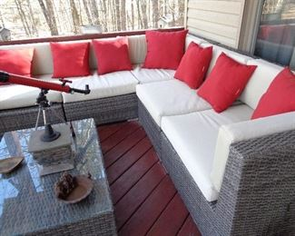 very nice patio furniture