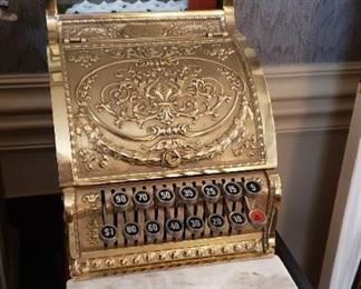 National Working Cash Register 4832 -313   Special Edition Class 300 Total adding 1985