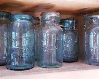 Antique Mason Ball Jars and more