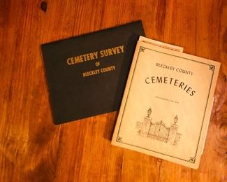 Bleckly Co cemetery books