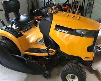 2015 Cub Cadet excellent condition 18 hp 42 in deck.  79 hrs