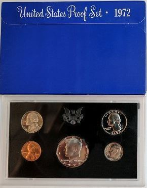 1972-S Proof Set 5-Coins