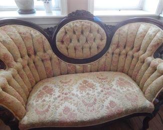 Antique settee.