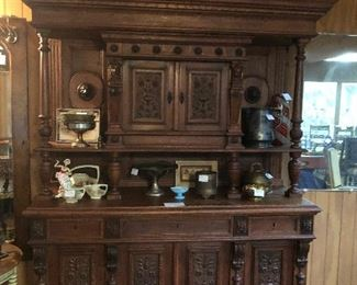 Beautiful carved Sideboard  $600 is the Rock bottom price.
