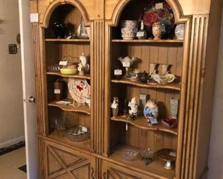 Total wall unit  Paint to match your decor  Nice solid piece