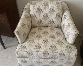 Two matching Heritage designer chairs
