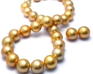 Lot 488 Southsea Pearl Necklace