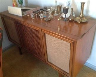 1960's Stereo Cabinet