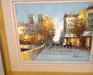 Oil Canvas Art