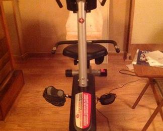 Schwinn Exercise Bike with LED Screen