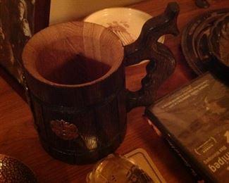 German Wood Stein