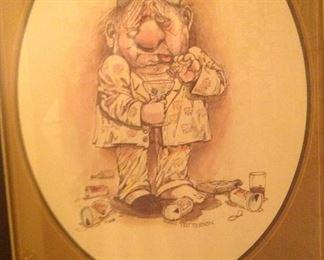 Patterson Cartoon Art