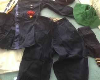 1930's Vintage Boy Scout Cub Scout Complete Uniform