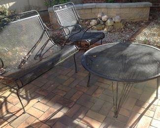 Outdoor Iron Furniture Set