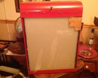 Vintage GE X Ray Lightbox
