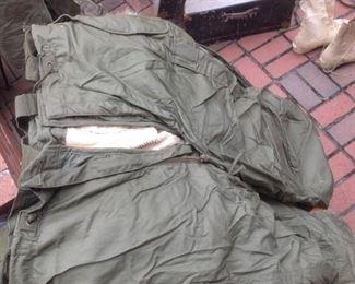 1950's US Military Issued Snow Pants  Korea War Era