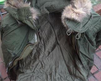 1950's US Military Issued Parka Jacket Korean War Era