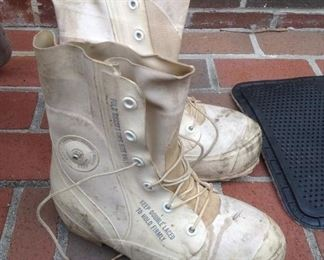 1950's US Military Issued Mickey Mouse Boots