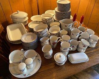 Set of Lenox stoneware dishes