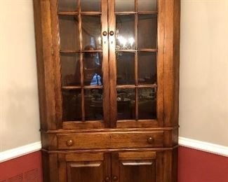 Benbow Reproduction Corner Cabinet