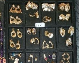 FINE JEWELRY -EARRINGS, CHARMS
