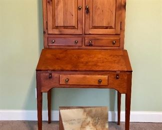 "Made  by Southern Craftsmen Guild, Mt Airy , Georgia  ""School Masters Desk"""