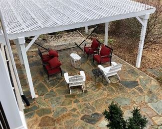 Patio furniture, more pictures and details coming soon!