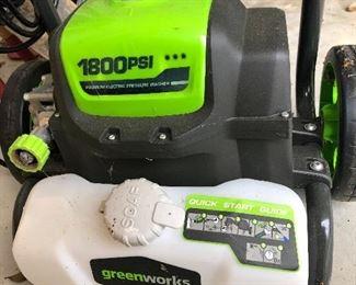 greenworks 1800PSI
