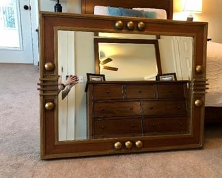 Art Deco mirror!