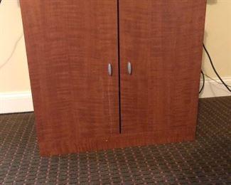 Locked cabinet