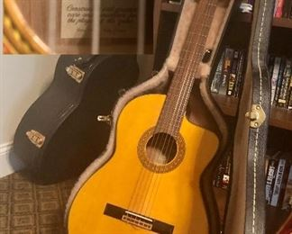 Takamine Classic Guitar acoustic electric