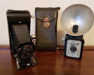 Antique Kodak Pocket Camera & Imperial Camera https://ctbids.com/#!/description/share/305969