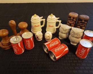 Vintage Coca-Cola Salt and Pepper Shakers and More! https://ctbids.com/#!/description/share/306407