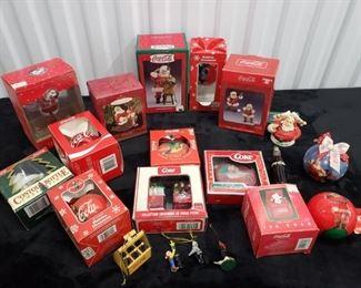 Coca-Cola Ornaments Lot #4 https://ctbids.com/#!/description/share/306761