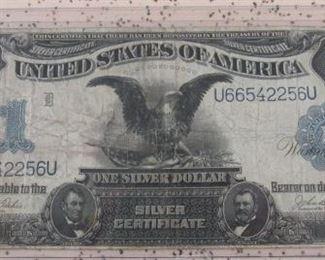 1899 $1.00 Eagle Silver Certificate