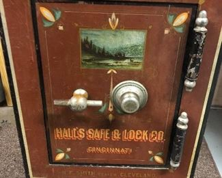 Hall's Safe & Lock Co. antique with combination