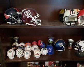 Football and  Baseball Collectibles