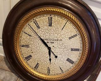Giant wall clock