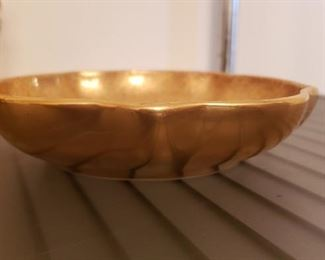 Gold Overlay Bowl
