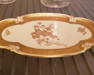 Jimenau German Painted Plate