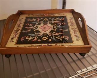 Glass Trivet Tray